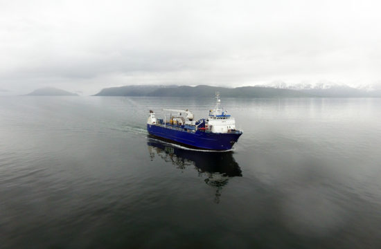 Godsrute Trondheim Finnmark med skipet Safir Nor Lines Daily
