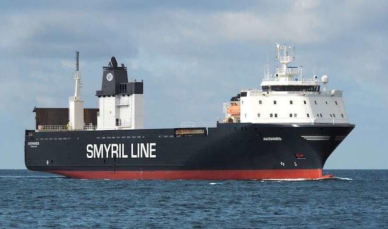 MV Akranes - Smyril Line Cargo