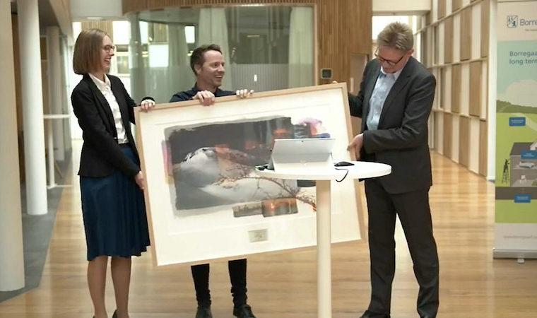 Borregaard vant Eksportprisen 2020. Foto: Eksportkreditt