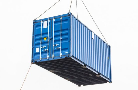 Blå Container